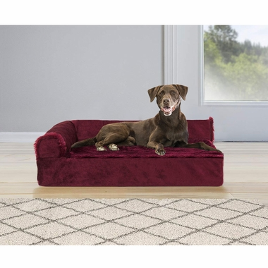 FURHAVEN-COOLING-GEL-CHAISE-LOUNGE-BED-RED-LARGE