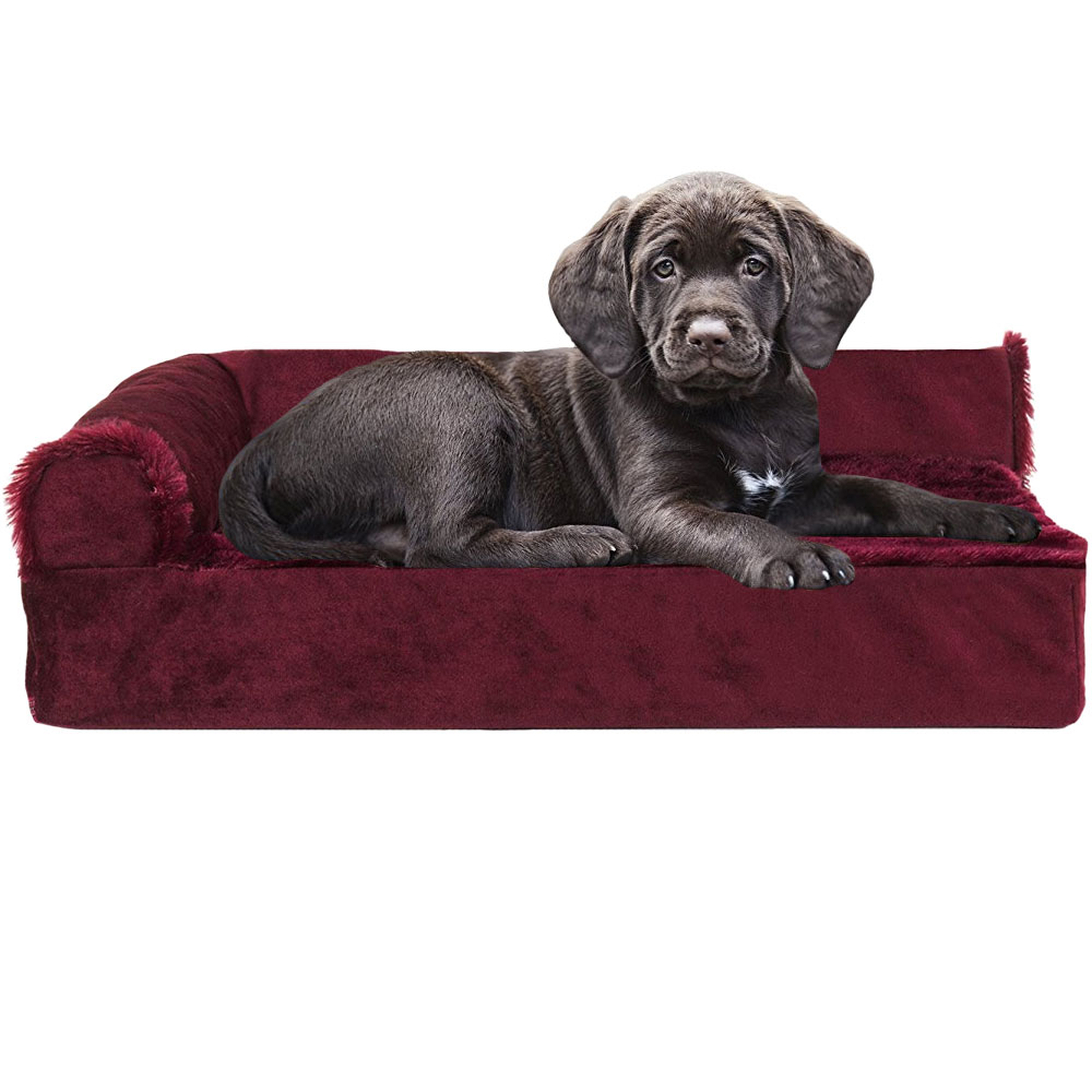 FURHAVEN-COOLING-GEL-CHAISE-LOUNGE-BED-RED-SMALL