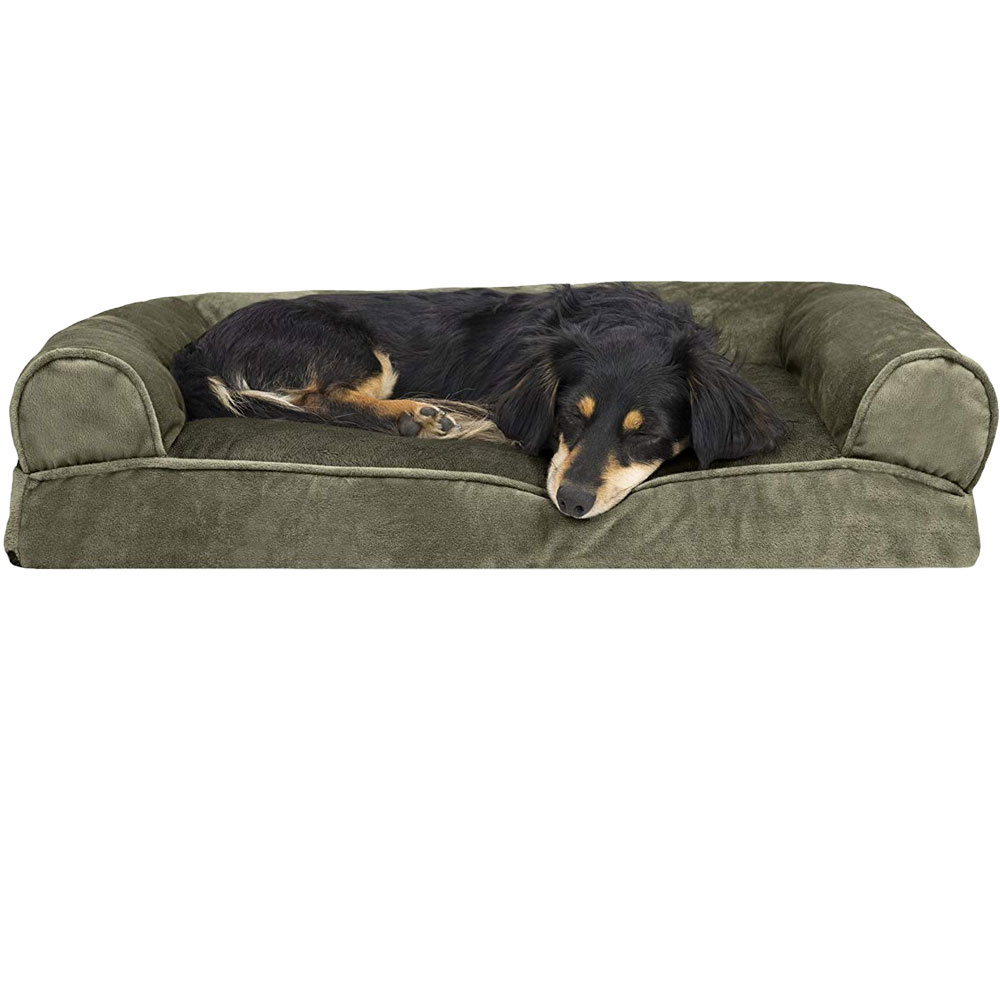 FURHAVEN-FAUX-FUR-VELVET-PILLOW-BED-GRAY-JUMBO