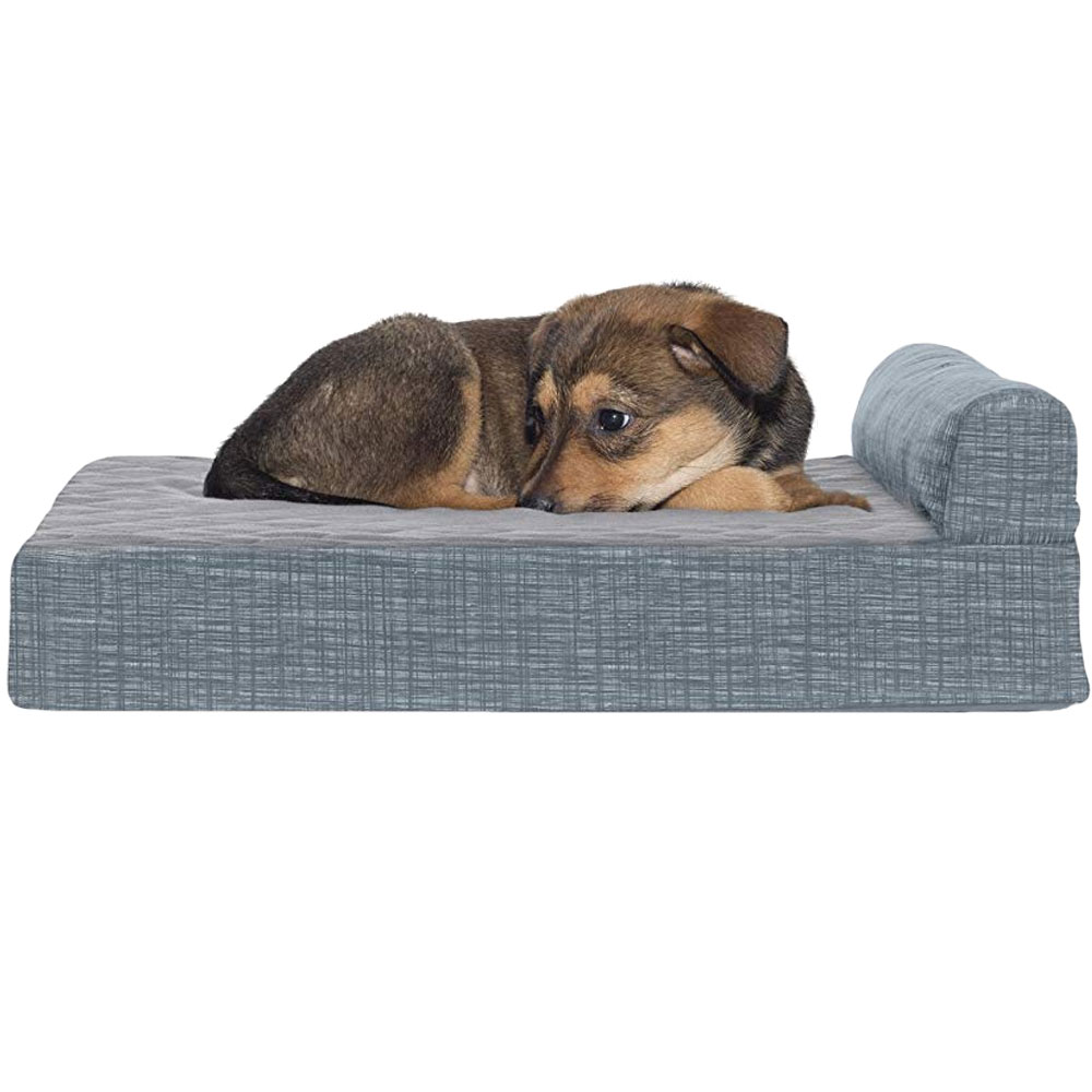 FURHAVEN-MEMORY-TOP-CHAISE-LOUNGE-TITANIUM-SMALL