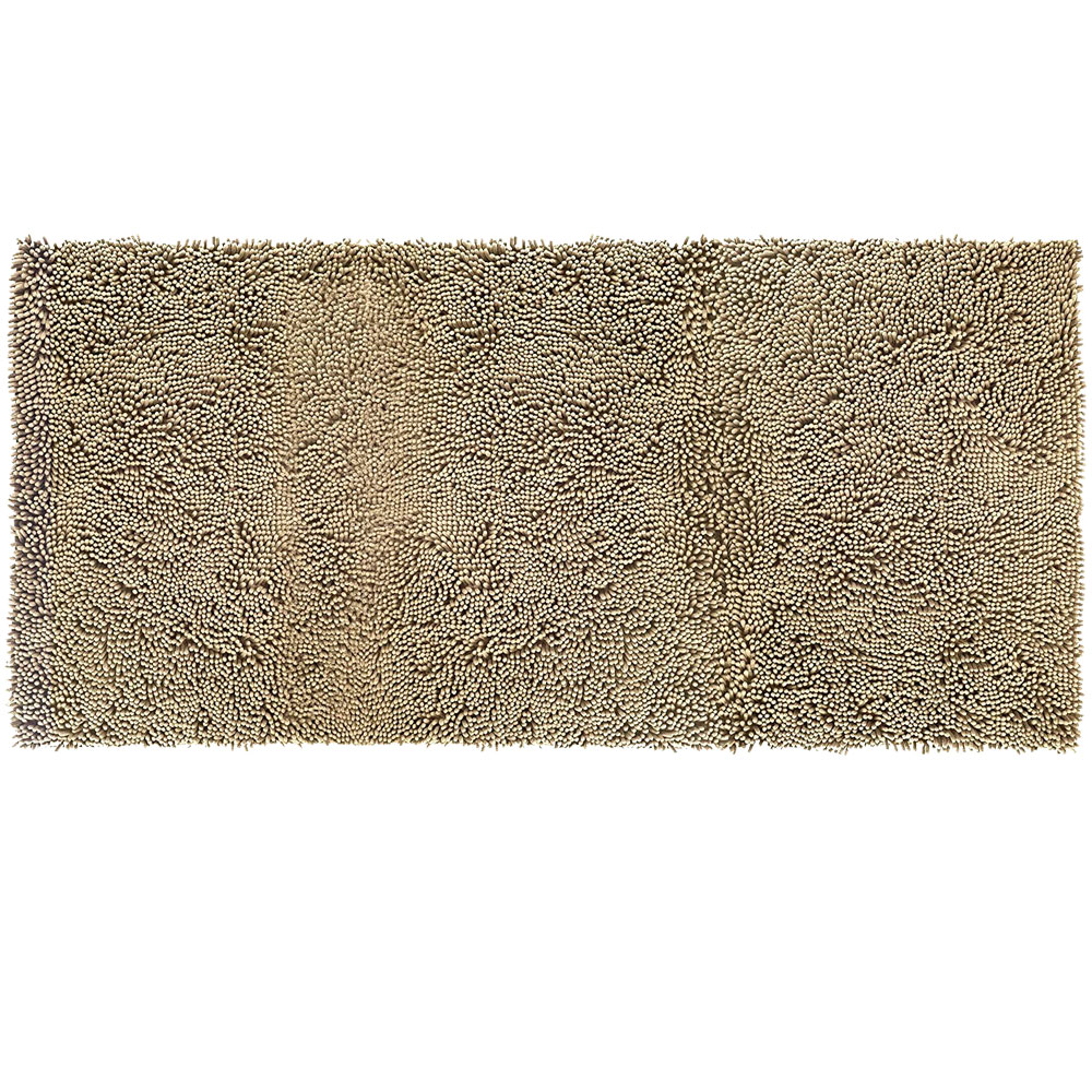 Image of FurHaven Muddy Paws Towel & Shammy Rug - Sand (Runner)