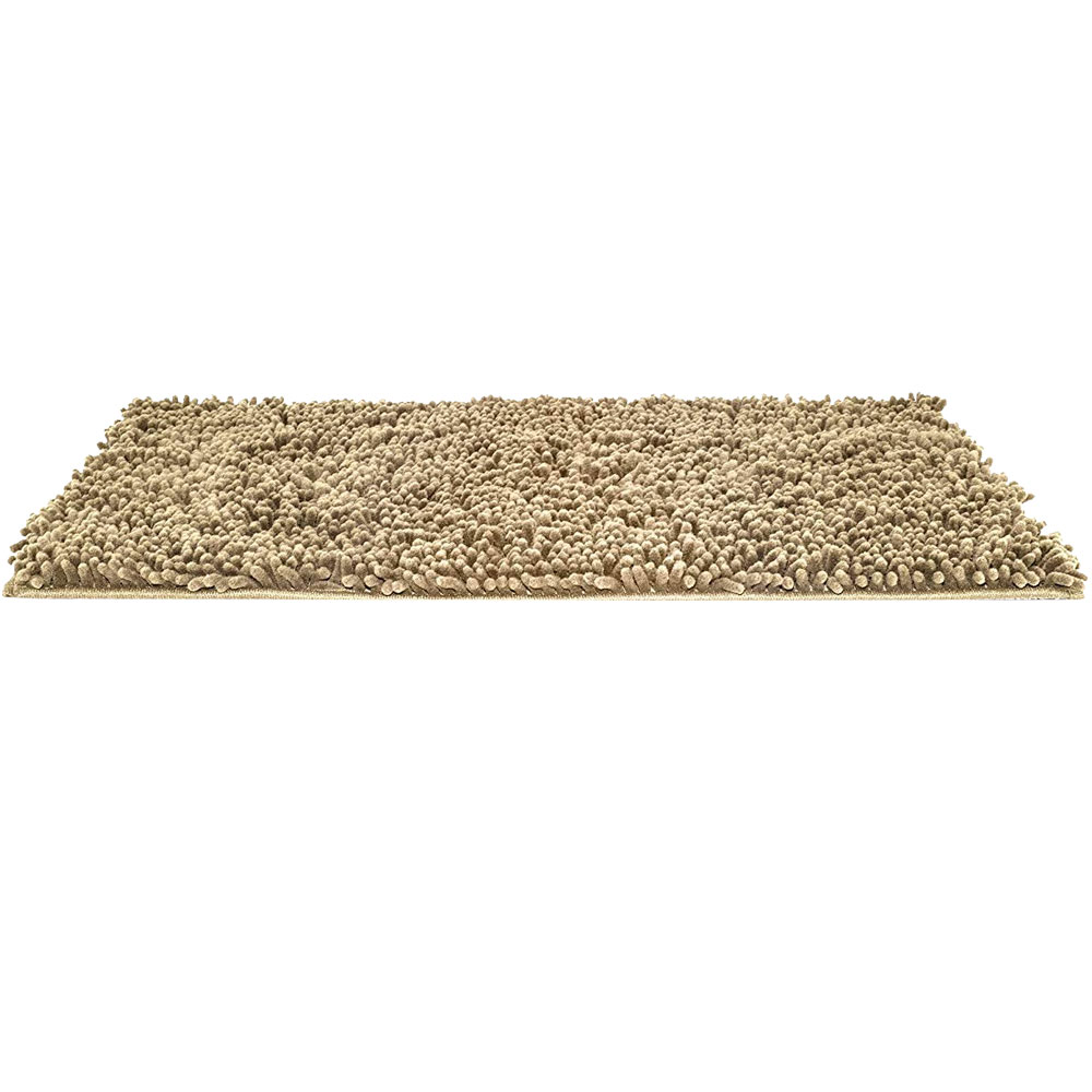 Image of FurHaven Muddy Paws Towel & Shammy Rug - Sand (Small)