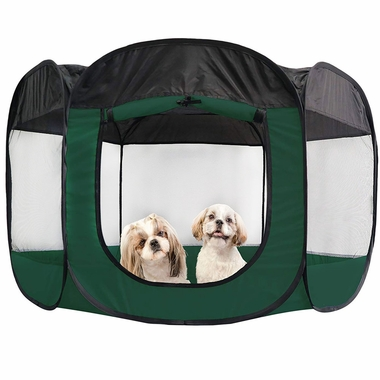 FURHAVEN-PLAYPEN-HUNTER-GREEN-MEDIUM