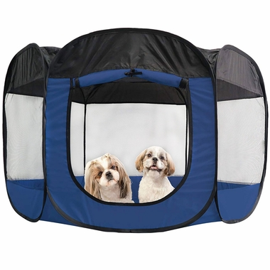 FURHAVEN-PLAYPEN-SAILOR-BLUE-LARGE