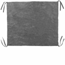 Furhaven Plush Cot Blanket - Silver Gray (Extra Small)