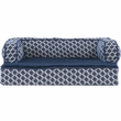 FurHaven Plush & Decor Comfy Couch Orthopedic Sofa-Style Pet Bed - Diamond Blue (Small)