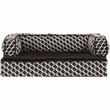 FurHaven Plush & Decor Comfy Couch Orthopedic Sofa-Style Pet Bed - Diamond Brown (Large)