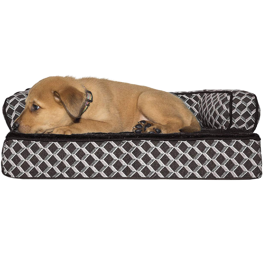 FURHAVEN-COMFY-COUCH-ORTHOPEDIC-BED-BROWN-SMALL
