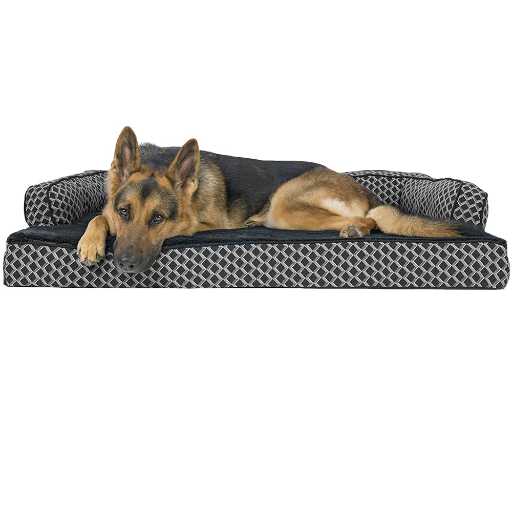 FURHAVEN-COMFY-COUCH-ORTHOPEDIC-BED-GRAY-JUMBO