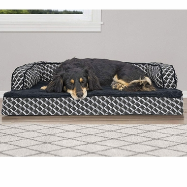 FURHAVEN-COMFY-COUCH-ORTHOPEDIC-BED-GRAY-MEDIUM