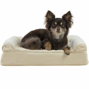 FURHAVEN-PLUSH-SUEDE-ORTHOPEDIC-BED-CLAY-MEDIUM