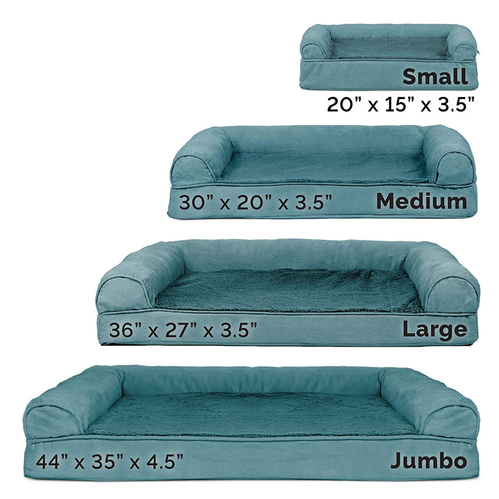 FURHAVEN-PLUSH-SUEDE-ORTHOPEDIC-BED-DEEP-POOL-LARGE