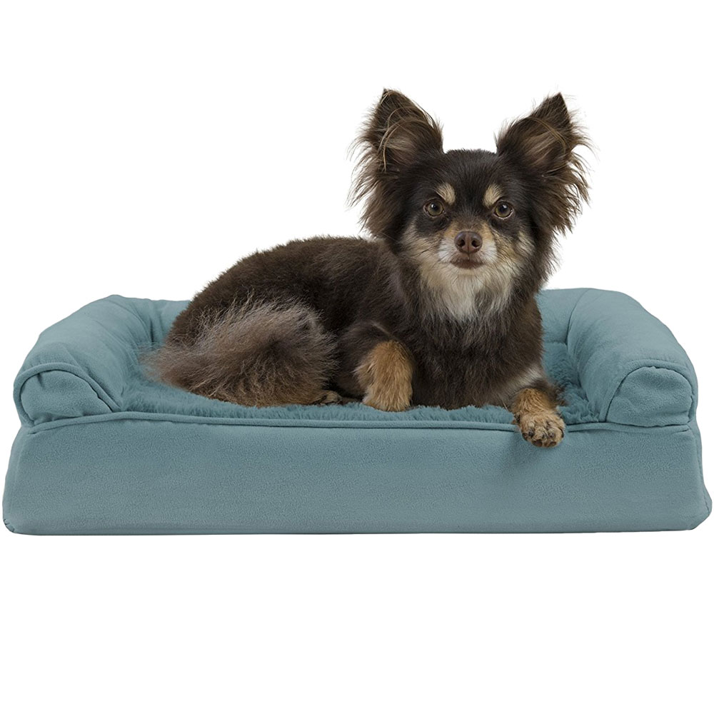 FURHAVEN-PLUSH-SUEDE-ORTHOPEDIC-BED-DEEP-POOL-MEDIUM
