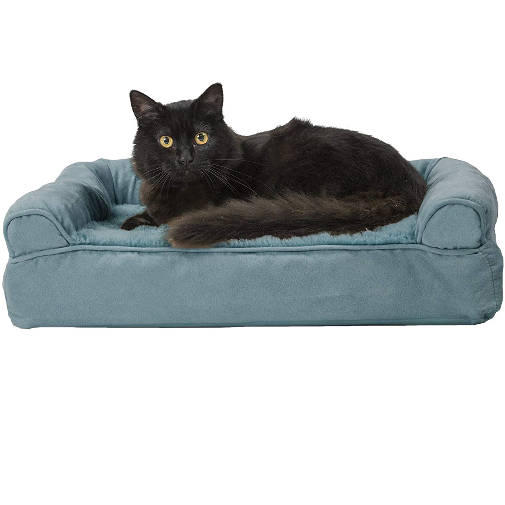 FURHAVEN-PLUSH-SUEDE-ORTHOPEDIC-BED-DEEP-POOL-SMALL