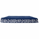 FurHaven Plush Top Kilim Deluxe Orthopedic Pet Bed - Indigo Espresso (Small)