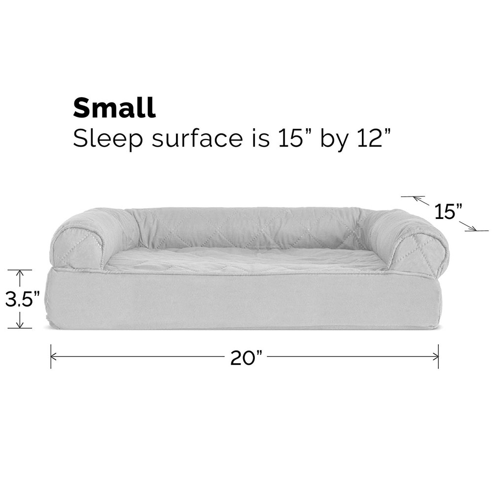 FURHAVEN-QUILTED-ORTHOPEDIC-BED-GRAY-SMALL