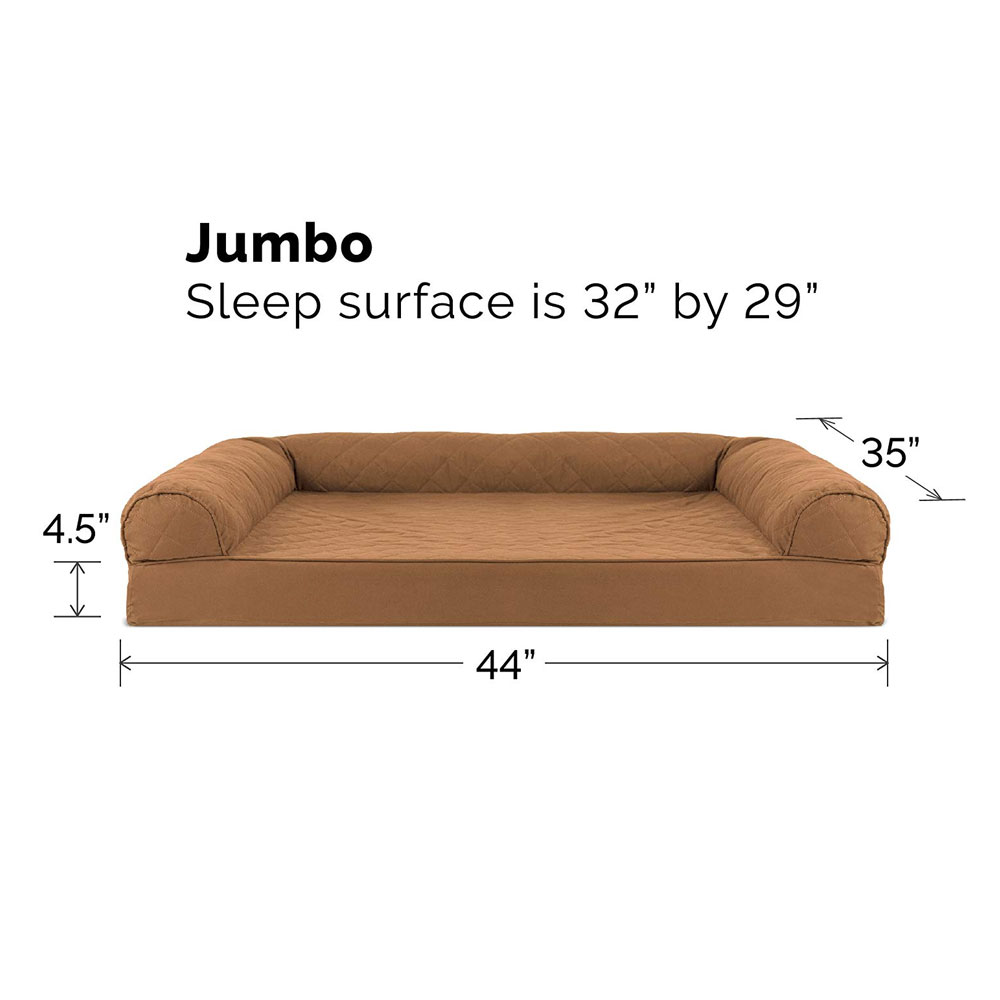 FURHAVEN-QUILTED-ORTHOPEDIC-BED-BROWN-JUMBO
