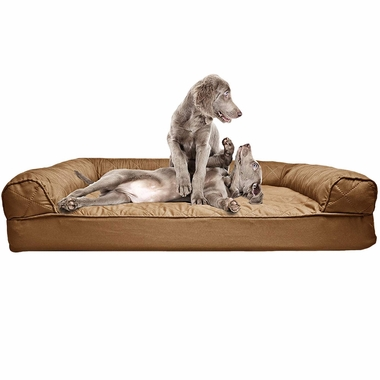 FURHAVEN-QUILTED-ORTHOPEDIC-BED-BROWN-LARGE