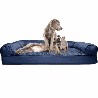 FURHAVEN-QUILTED-ORTHOPEDIC-BED-NAVY-LARGE