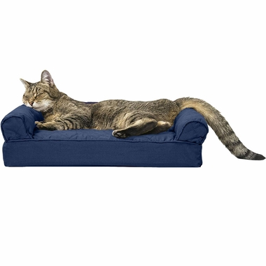 FURHAVEN-QUILTED-ORTHOPEDIC-BED-NAVY-SMALL