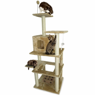 FURHAVEN-TIGER-TOUGH-HIGHRISE-PLAYGROUND-CREAM