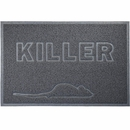 FurHaven Tiger Tough Killer Tidy Paws Litter & Food Mat - Mouse Gray