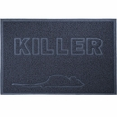 FurHaven Tiger Tough Killer Tidy Paws Litter & Food Mat - Nightstalker Blue