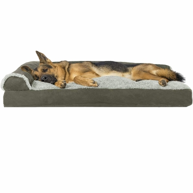 FURHAVEN-CHAISE-LOUNGE-PILLOW-BED-SAGE-LARGE