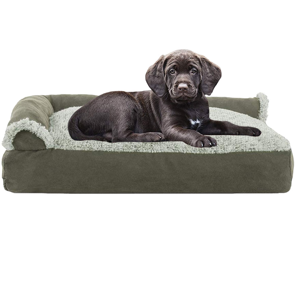 FURHAVEN-CHAISE-LOUNGE-PILLOW-BED-SAGE-SMALL