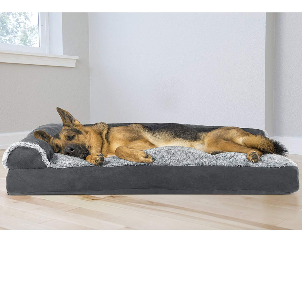 FURHAVEN-CHAISE-LOUNGE-PILLOW-BED-GRAY-LARGE