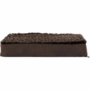 FurHaven Ultra Plush Deluxe Orthopedic Pet Bed - Chocolate (Medium)
