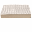 FurHaven Ultra Plush Deluxe Orthopedic Pet Bed - Cream (Large)
