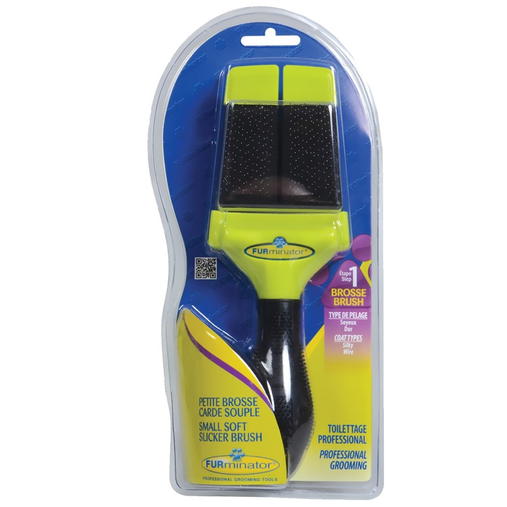 Image of FURminator Soft Slicker Brush - Small