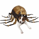 Fuzzy Tarantula Dog Costume (Medium)