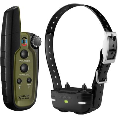 Garmin Sport PRO 3/4 Mile Expanable Remote Dog Trainer Black