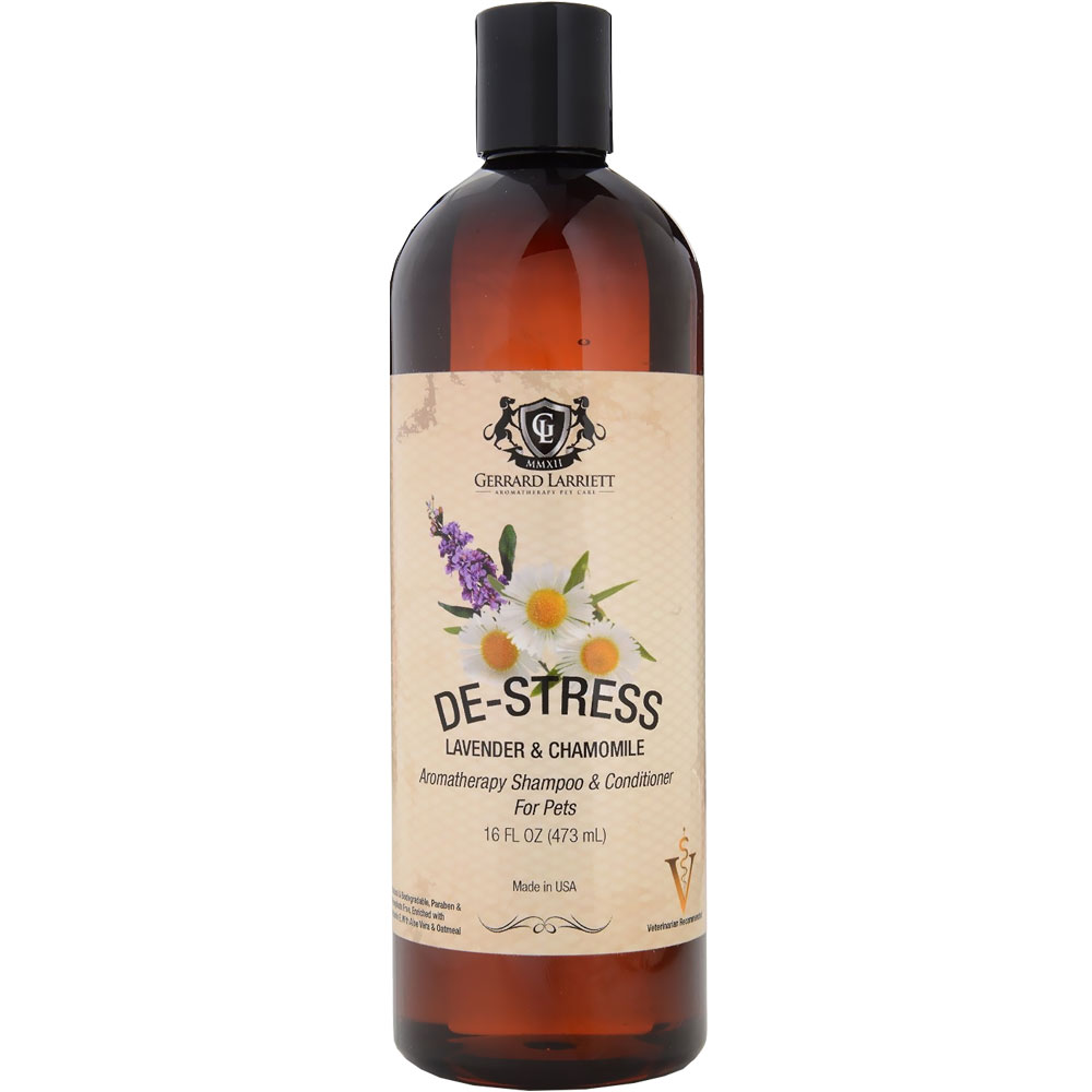 Gerrard Larriett De-Stress Lavender & Chamomile - Aromatherapy Shampoo & Conditioner for Pets (16 oz) im test