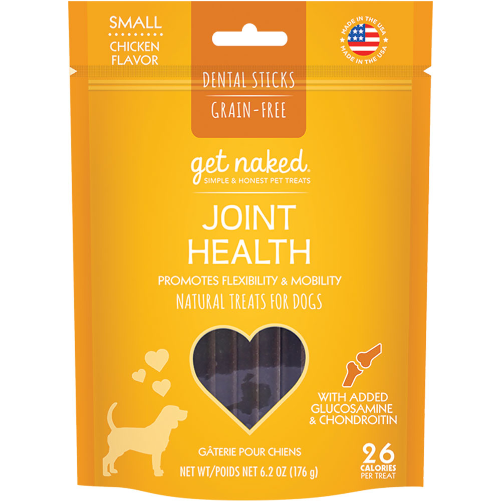 Get Naked Joint Health Dental Sticks Treats for Dogs Small (6.2 oz) im test