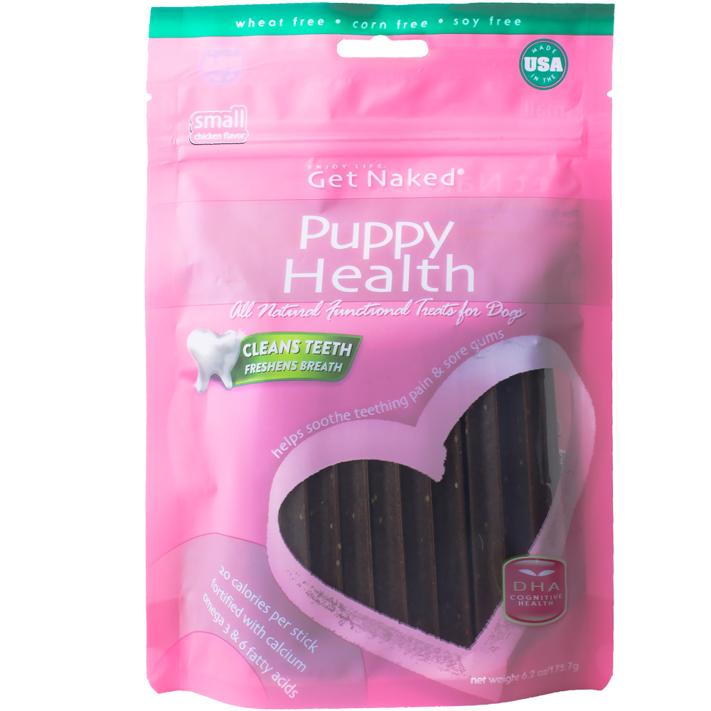 Get Naked Puppy Health Treats for Dogs Small (6.2 oz) im test