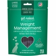 Get Naked Weight Management Dental Sticks Treats for Dogs Large (6.2 oz)