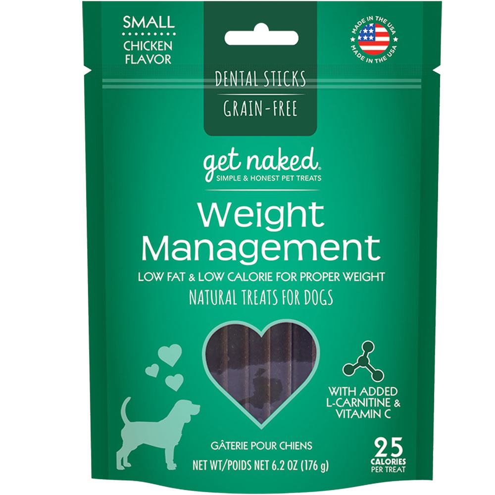 Get Naked Weight Management Dental Sticks Treats for Dogs Small (6.2 oz) im test