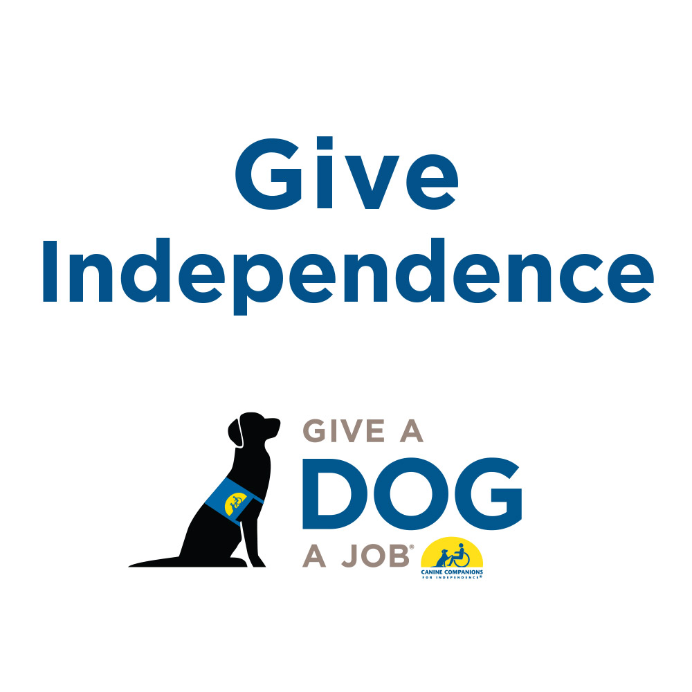 Donate to Canine Companions for Independence im test