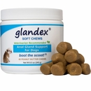 Glandex Peanut Butter Soft Chews for Dogs (60 count)