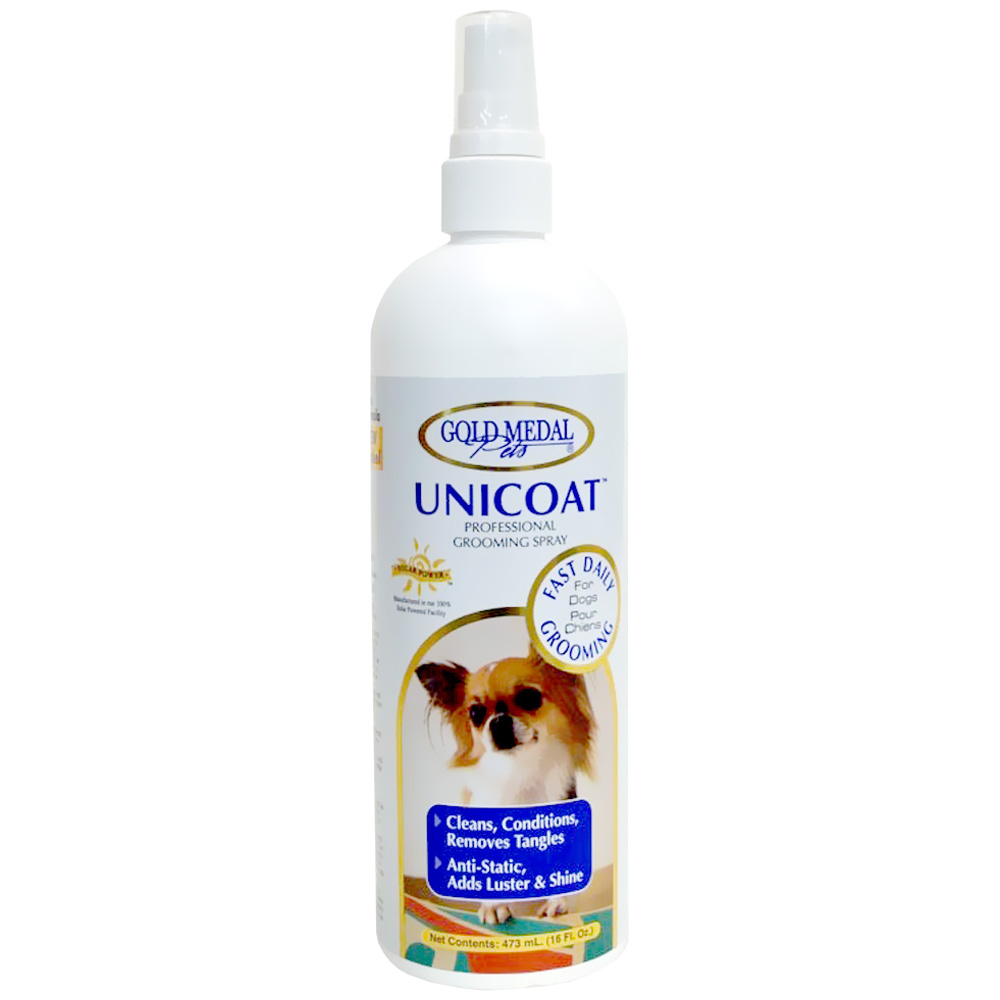 Gold Medal Unicoat Professional Grooming Spray (16 oz) im test