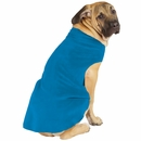 Gold Paw Stretch Fleece - Blue (Small)