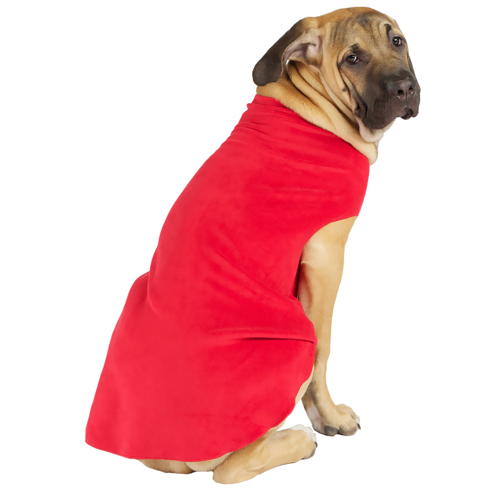 Gold Paw Stretch Fleece - Red (Size 12) im test