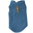 Gooby Fleece Vest for Dogs Blue - Medium