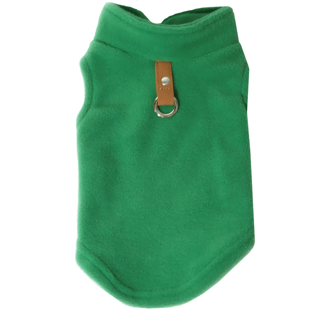 GOOBY-FLEECE-VEST-GREEN-MEDIUM
