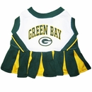 Green Bay Packers Cheerleader Dog Dress - XSmall