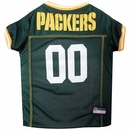 Green Bay Packers Dog Jersey - Large