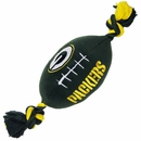 Green Bay Packers Plush Dog Toy